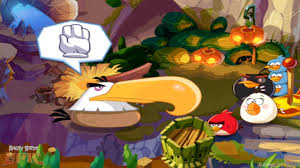 Angry Birds Epic - Mighty Eagle vs Catapults - YouTube