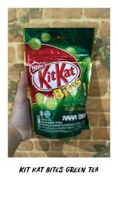 jual kit kat bites green tea kota