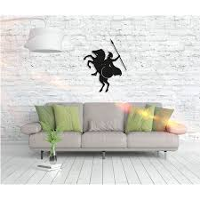 Shop Horse Spartan Metal Word Wall Art Home Decor Decorative Hanging Sign Ornament For Bedroom Living Room Dining Room Walls On Sale Overstock 27814626