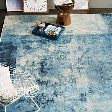 distressed rococo wool rug with images