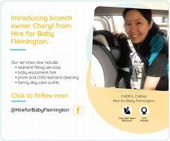 flemington vic hire for baby