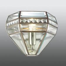 palace cut glass and crystal wall light