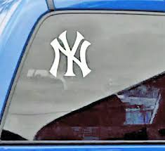 New York Yankees Logo Vinyl Car Truck Decal Window Sticker Graphic Ny Yankees For Sale Online