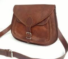 leather purse gypsy style small handbag