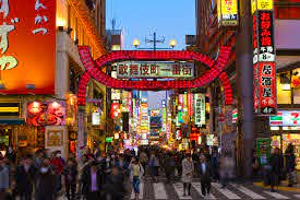the red light district of tokyo