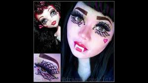 monster high draculaura makeup you