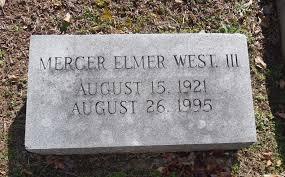 Mercer Elmer West, III (1921-1995) - Find A Grave Memorial