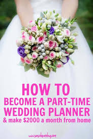 bee a wedding planner and make 2000
