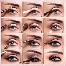 eyeshadow step by step tutorial
