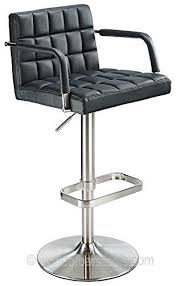 costantino kuba real leather bar stool