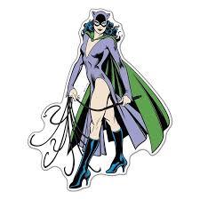 Dc Comics Catwoman Character Automotive Sticker Decal Zing Pop Culture