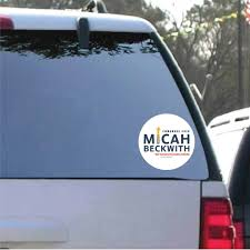 Micah Beckwith For Congress Decal Set Campaignpros