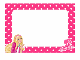 barbie borders and frames