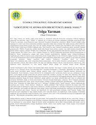 Tolga Yarman - İstanbul Üniversitesi
