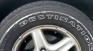 white sidewall tire scuffing
