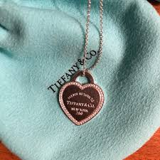 return to tiffany heart necklace