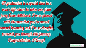 congratulations message for graduation for boyfriend from