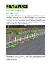 Temporary Fencing Hire Perth All Temporary Fencing