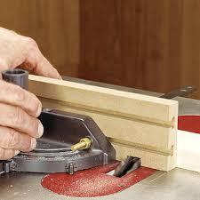 Adjustable Miter Gauge Extension