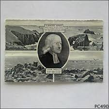 Lands End John Wesley Stone Longships Lighthouse Armed Knight Postcard  (P490) | eBay