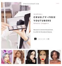 free you beauty vloggers