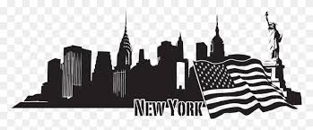 New York Skyline Wall Decal Style And Apply New York City Skyline Png Stunning Free Transparent Png Clipart Images Free Download