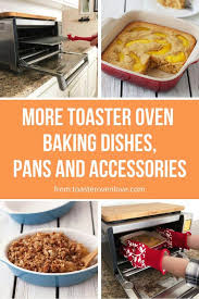 toaster oven baking dishes