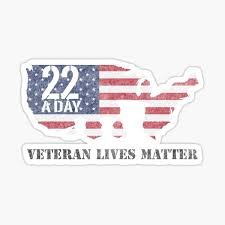 Veteran 22 Flag Suicide Awareness Ptsd Military Support Our Troops Vinyl Decal Other Car Truck Decals Stickers Auto Parts And Vehicles Tamerindsa Com Ar