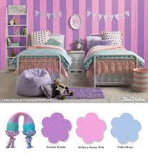 Satin And Chenille S Dreamworks Trolls Girls Fashion Bedroom Wallpaper Design For Bedroom Bedroom Themes Room Ideas Bedroom