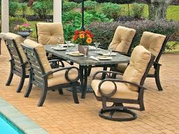 slate patio large table size of home