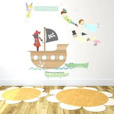 Peter Pan Wall Decal Shadow Rabbit Nz Never Grow Art Australia Vinyl Quotes Vamosrayos