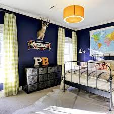 Kids Room With Industrial Lockers Contemporary Boy S Room
