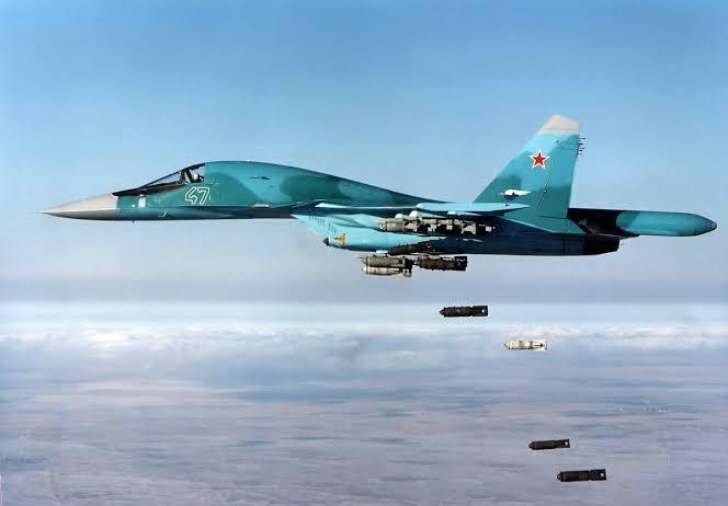 Resultado de imagem para su-34 na síria