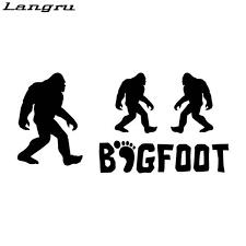 High Quality Set 4 Bigfoot Yeti Sasquatch Vinyl Car Motorcycle Stickers And Decals Jdm Aliexpress