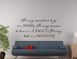 Home Family Blessing Wall Decal Wall Decal Wall Art