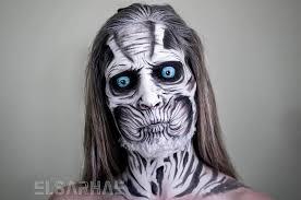 self taught makeup artist turns herself