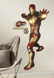 Iron Man 3 Peel And Stick Giant Wall Decals Walldecals Com