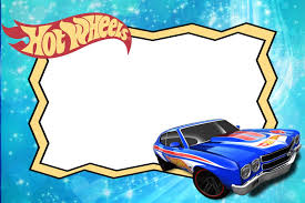 Printable Hot Wheels Invitation Template Invitations Online