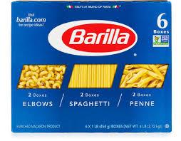 barilla pasta variety pack 6 x 16 oz