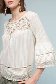 Priscilla Bell-Sleeve Blouse | Fashion, Blouses for women, Womens fashion  bohemian