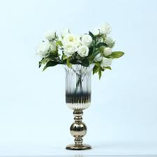 hurricane glass vase candle holder