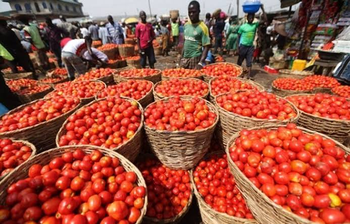 Image result for data for prices of food in nigeria/border closure""