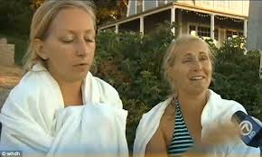 Massachusetts kayakers escape from shark that threw them into the water    Daily Mail Online