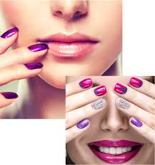 attractive nail salon joomla template