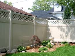 Privacy Fence Vinyl Fence For Securing A Private Yard Area For Your Home