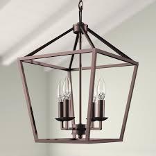 roy 4 light lantern geometric pendant