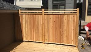 Fence Construction Services In Ottawa On