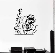 Wall Decal Grandfather With A Cane Wizard God Vinyl Sticker Ed1131 Wallstickers4you