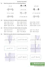 solving inequalities in one variable