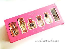 victoria s secret 6 perfume gift set